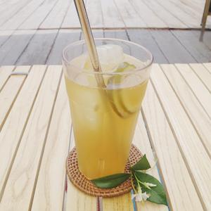 季節のシロップジュース